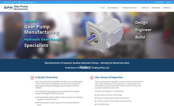 Gear Pump Manufacturing (GPM)